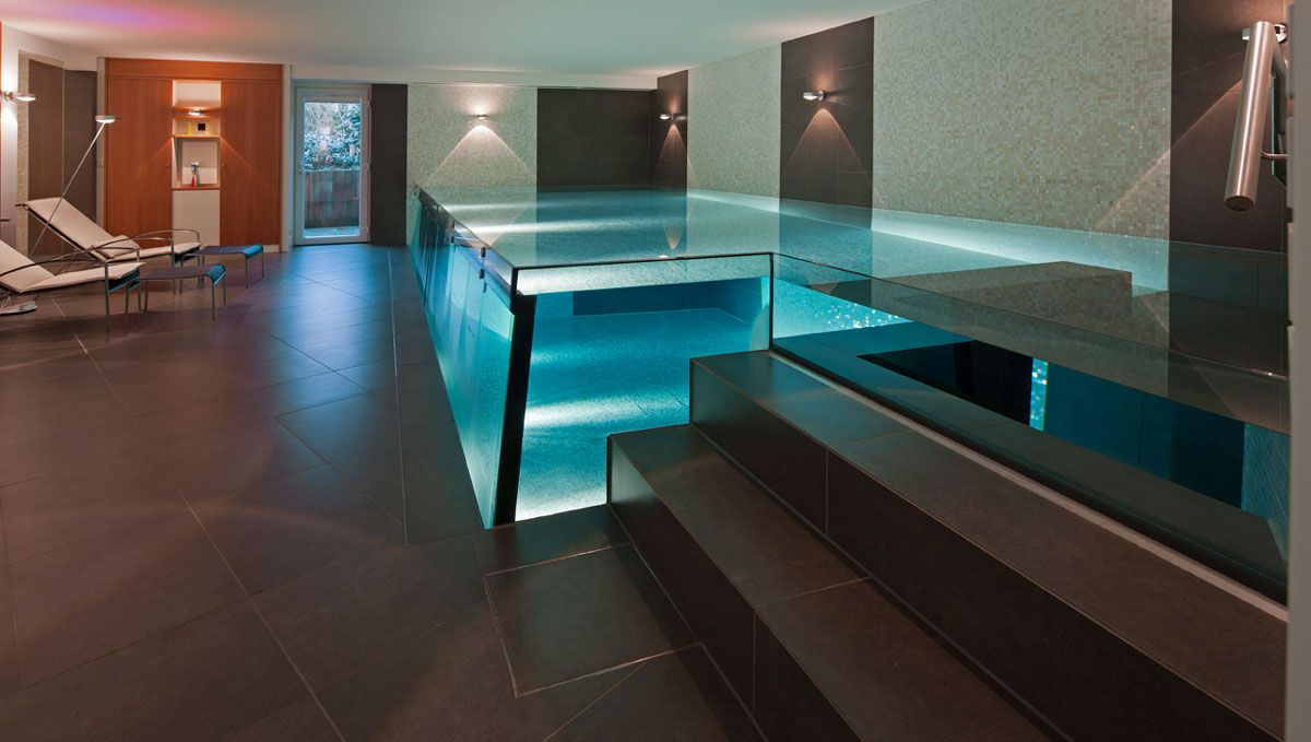 Schwimmbecken aus Glas ✔️ Fachbetrieb Löchte GmbH in Münster